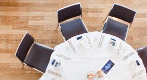 Hochzeit-DG Buffet Schokoladenmuseum Tisch